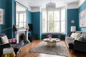 地中海风格精美别墅客厅设计装修效果图