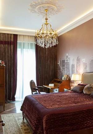 美式风格复古精美别墅室内装修效果图
