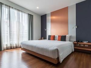 现代风格简单舒适卧室装修效果图