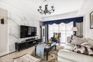 新古典主义风格大户型精致客厅装修效果图