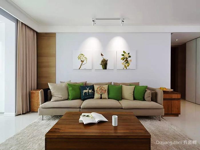 宜家风格简约小户型客厅装修效果图