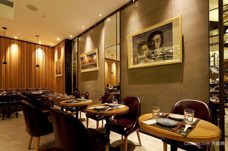 后现代风格精美餐厅设计装修效果图赏析