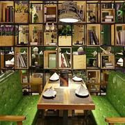 简约风格时尚文艺咖啡厅设计装修效果图