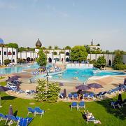 简约风格五星级酒店游泳池设计装修效果图