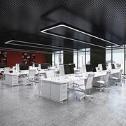 现代简约风格小型办公室装修效果图赏析