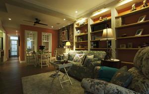 90平米美式田园风格精致室内设计装修效果图