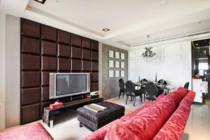 103平米欧式风格精美两室两厅室内装修效果图