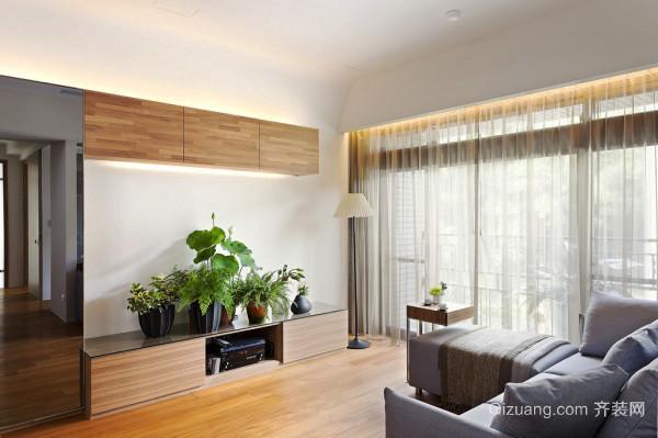日式风格简约两室两厅室内装修效果图赏析