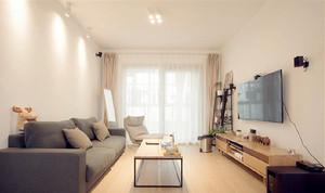 76平米日式风格简约两室两厅室内装修效果图案例