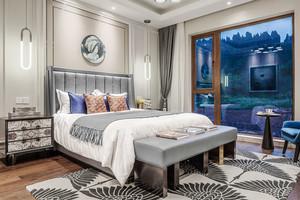 新古典主义风格时尚卧室设计装修效果图