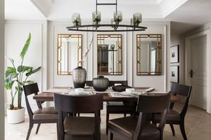 新中式风格典雅精致餐厅设计装修效果图