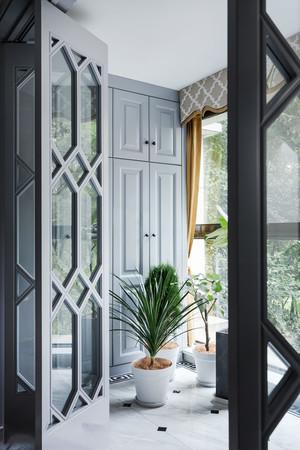 美式风格精致典雅阳台设计装修效果图