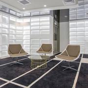 现代简约风格办公室休息室设计装修图