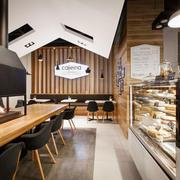 简约风格精致面包店设计装修效果图