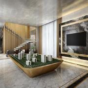 现代风格精致售楼处设计装修效果图
