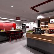现代简约风格咖啡厅设计装修效果图