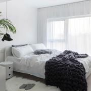 简约风格小户型卧室设计装修实景图