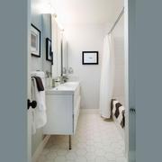 欧式风格清新卫生间设计装修效果图