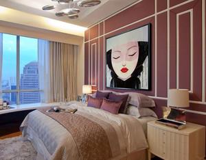 欧式风格精美时尚卧室设计装修效果图