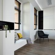 现代简约风格精美飘窗设计装修效果图