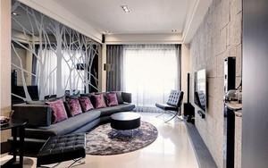 80平米现代简约风格室内设计装修效果图