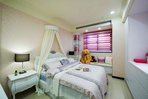 新中式风格精美三室两厅室内设计装修效果图