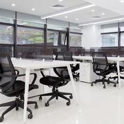 86平米现代简约风格小型办公室装修效果图