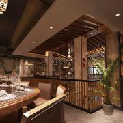 中式风格精美典雅餐厅设计装修实景图