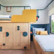 简约风格创意多彩儿童房设计装修效果图