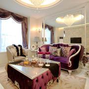 法式风格别墅室内奢华卧室设计装修效果图