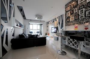 80平米后现代风格精致室内设计装修效果图