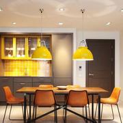 现代风格时尚餐厅设计装修实景图