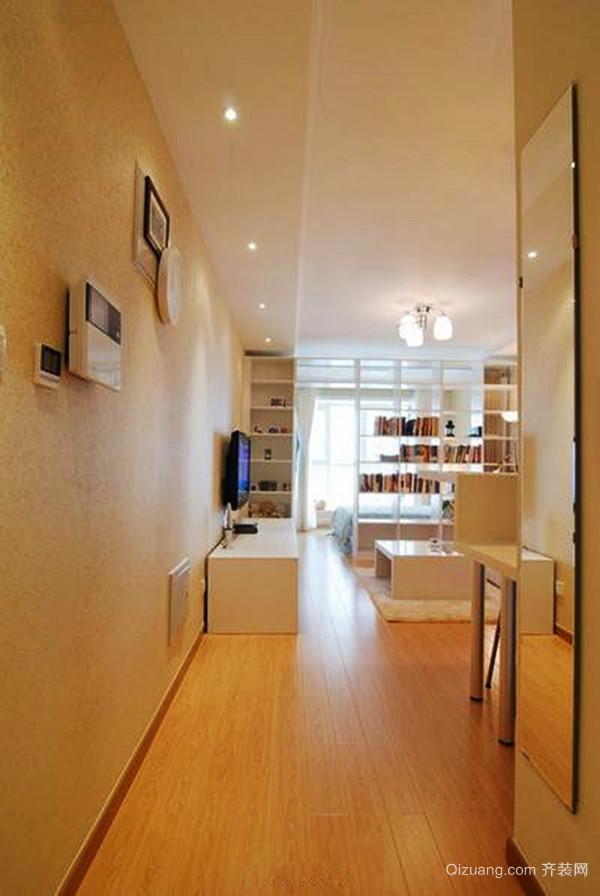 宜家风格简约一居室室内设计装修效果图