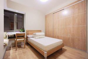 宜家风格简约卧室整体衣柜装修效果图