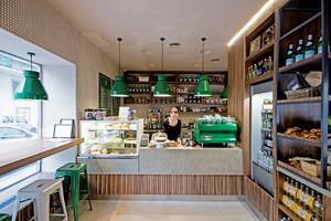 36平米简约风格面包店装修效果图