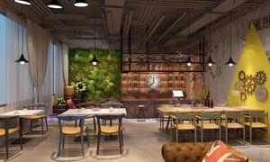 60平米后现代风格精致酒吧设计装修效果图