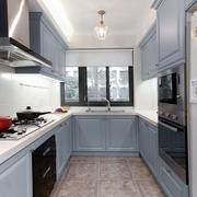 美式风格清新精致厨房设计装修效果图赏析