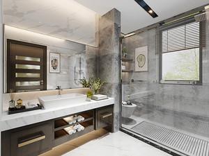 186平米混搭风格精致复式楼室内装修效果图
