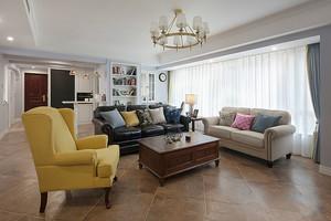 90平米美式风格精致室内设计装修效果图