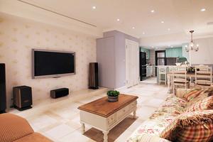 欧式田园风格清新大户型室内设计装修效果图