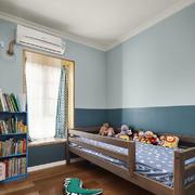 清新风格小户型儿童房设计装修效果图