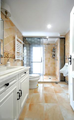 8平米简欧风格精致卫生间设计装修实景图