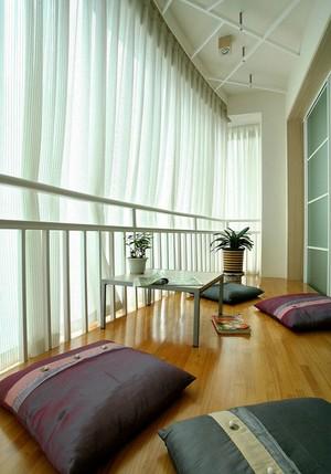 78平米现代简约风格一居室室内装修效果图
