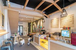 现代简约风格时尚咖啡厅设计装修效果图