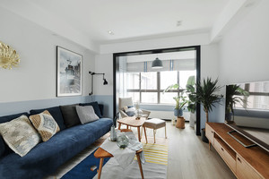 北欧风格简约客厅设计装修效果图鉴赏