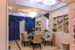 地中海风格精美蓝色餐厅设计装修效果图