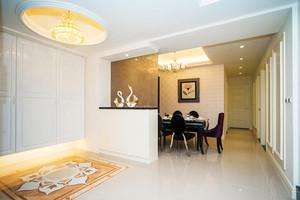 简欧风格精致三室两厅室内装修效果图赏析