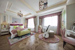 欧式风格别墅室内精美儿童房设计装修效果图