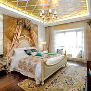 欧式风格奢华精美卧室设计装修效果图赏析