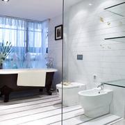 欧式风格精致大户型卫生间设计装修效果图